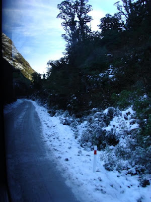 Wilmont Pass, the unsealed road between Lake Manapouri and Doubtful Sound