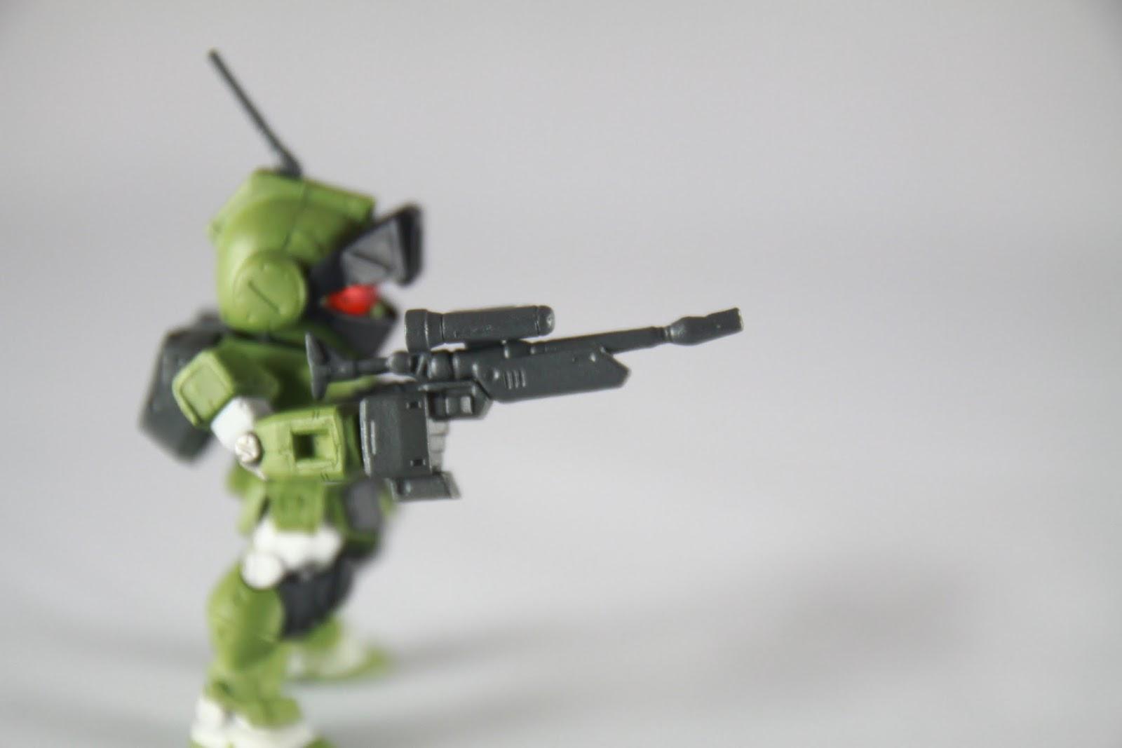 專用狙擊槍, 槍頭歪了