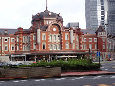 The outside of Tokyo Station.....which goes for blocks under the ground these days as well