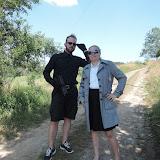 Den 1. (neděle 4. 7. 2015) - po příjezdu si děti převzalo duo agentů Tajné Informační Služby, aby zajistilo bezpečný transport nových rekrutů do tábora