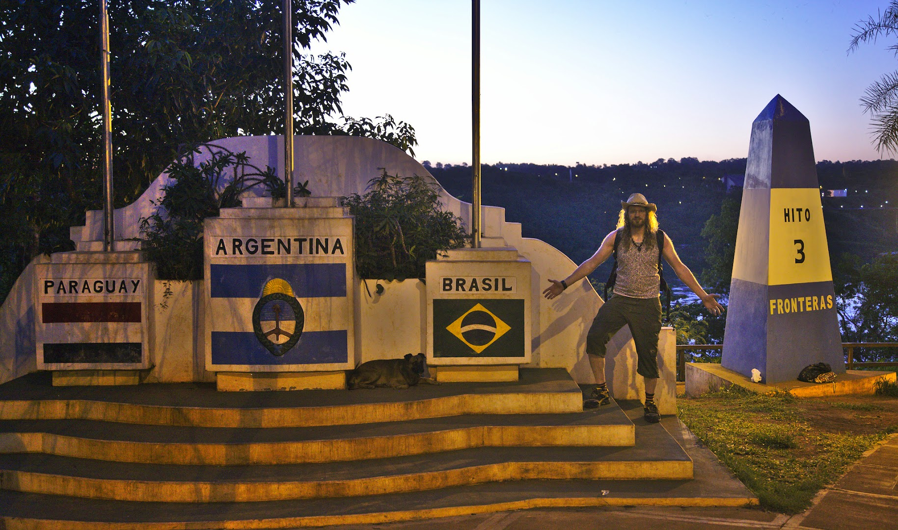Argentina and Brazil are famous for the views of the falls here, but Paraguay is where everyone goes for cheap electronics (reduced taxes)