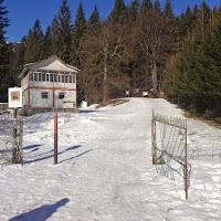 Intrarea in Parcul National Ceahlau - Izvorul Muntelui
