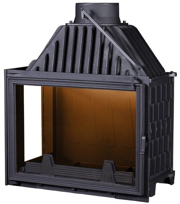 PANTHERM 71 LIJEVI lateral dim. 710x500 promjer dimovodne cijevi: fi200 težina ložišta:165 kg