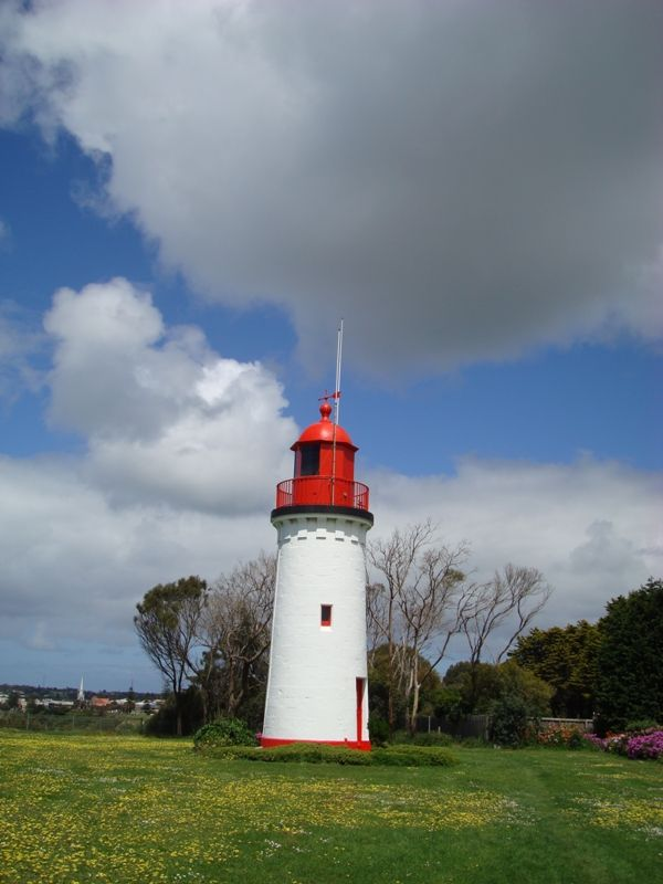 *Another* lighthouse. This time in the township of Portland