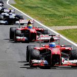 Alonso & Massa back to the pit