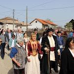Sokan az öltözékükkel a fejedelem korát idézték.