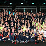 Red Bull Racing team celebration after winning the 2013 Indian F1 GP, F1 drivers & F1 constructors title
