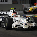 Robert Kubica (POL) in the BMW Sauber F1.08