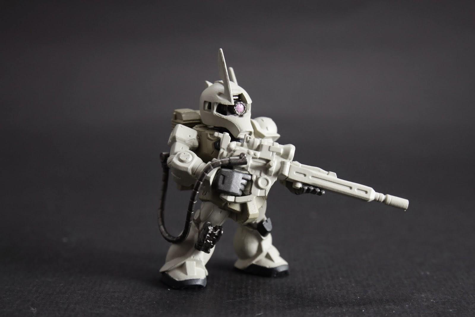 不過因為是擔任長距離狙擊 所以基本上機體性能不用多高