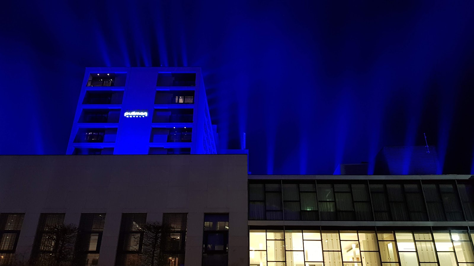 Blue lights