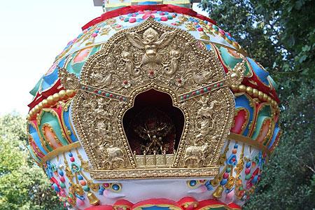 The Kalachakra Stupa at Kurukua Center, USA