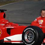 Michael Schumacher Launches the Ferrari F2006 248 F1