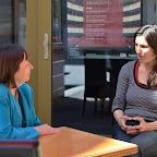 Adeline STERN et Mélanie PITTELOUD, assistante-réalisatrice pour