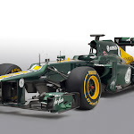 Caterham CT01 Renault front right