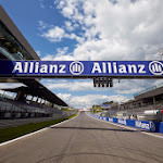 Pole position view of the Red Bull Ring