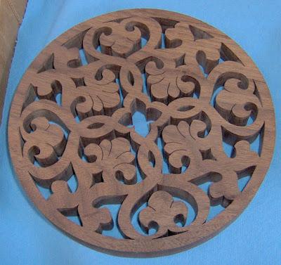 trivet Arabic motif