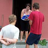 Puťák - starší (2) - předávání nalezeného mláděte Káně do hájovny