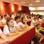 A Selye János Egyetem első évfolyamának hallgatói