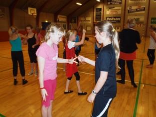 Friske gymnastik piger 2011