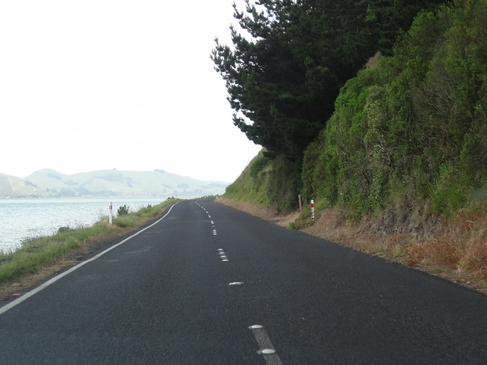 The road beyond the port