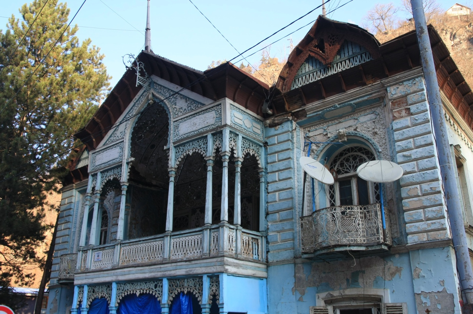 The oldest building of Borjomi