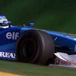 Giancarlo Fishichella, Benetton B201 Renault