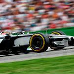 Jenson Button racing the McLaren MP4-29