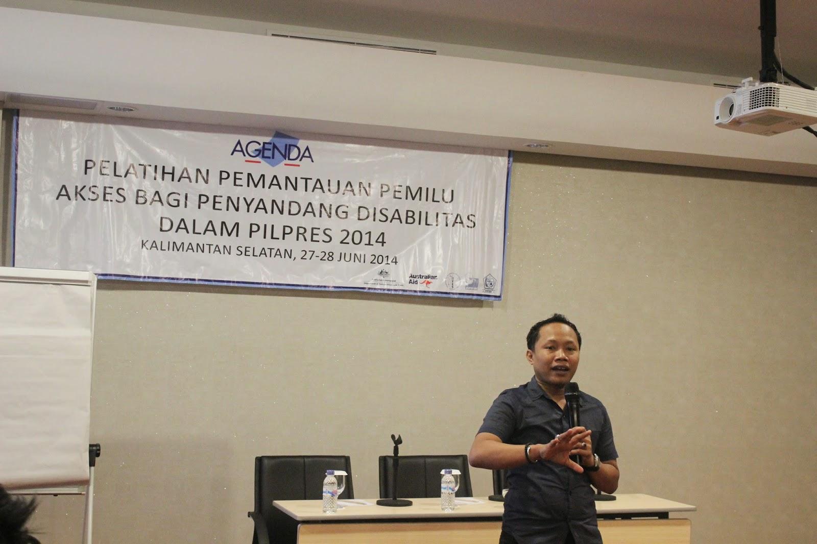 JPPR Trainer at Observer Workshop South Kalimantan 27-28 June 2014
