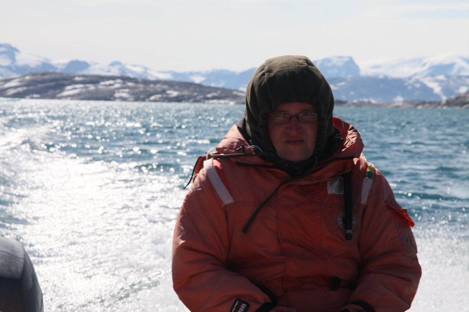Very cold, even in the 'Arctic Survival' costume