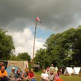 Možná bouřka, možná ne - první týden tábora se na počasí spolehnout nedalo