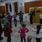 Tetőzik a hangulat a gyermekek táncházában