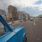 Malecon by Lada taxi