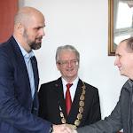 Gergely István Andruskó Imre gratulációját fogadja