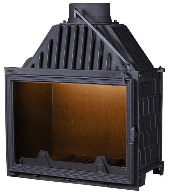 PANTHERM 71 RAVNI lateral dim.710x550 promjer dimovodne cijevi: fi200 težina ložišta:165 kg