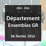 2016 - GR - Compétition Départementale Ensembles - 6 Février