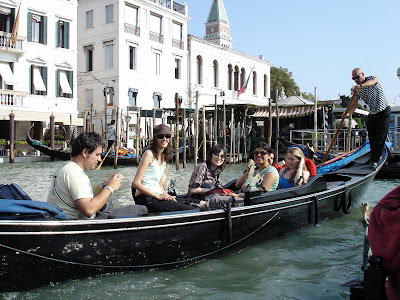 Some of the other guys on a gondola