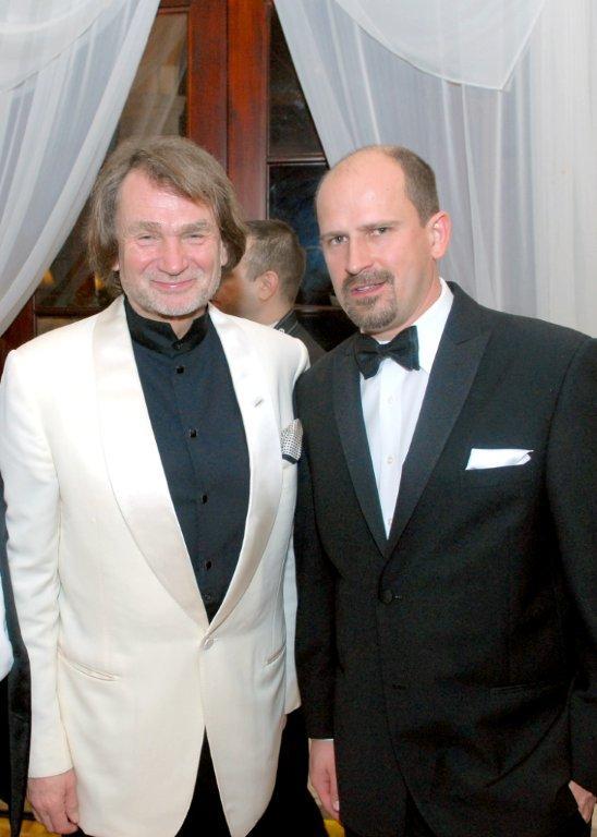 Jan Kulczyk and Orest Melnyk