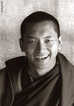 Rinpoche at Kopan 1980  Photo by Clive Arrowsmith