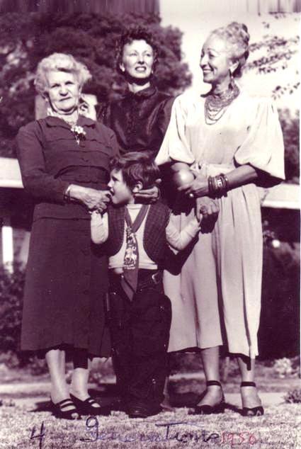 Four generations, Christmas, c. 1948