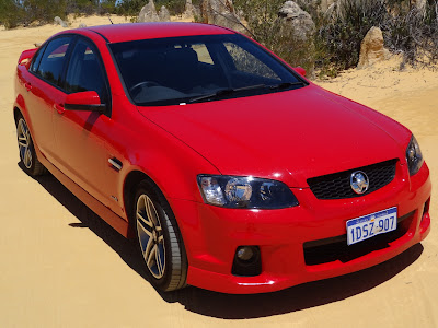 this is what a compact auto is according the rental company - Holden SV6