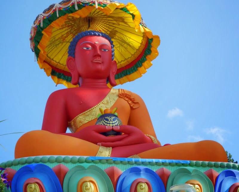 Buddha Amitabha Pure Land, Washington, US, August 23, 2014. Photo by Ven. Roger Kunsang.