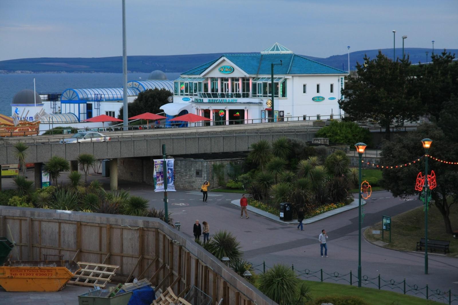 Approaching Bournemouth pier