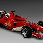 Ferrari F2006 248 F1 right front