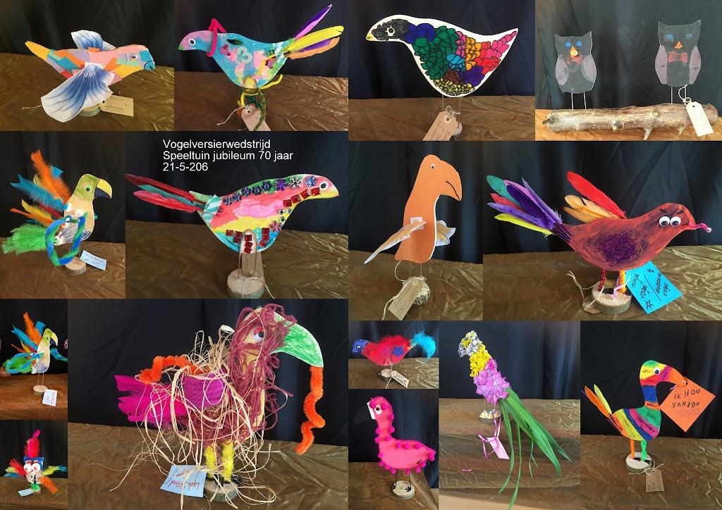 Speeltuin 70 Jaar - Vogel Versier Wedstrijd2