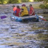 Jedna naše posádka na raftu