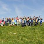 Vijfde leerjaar op leeruitstap naar Doel, Waaslandhaven, Verdronken Land van Saeftinghe (05/15)