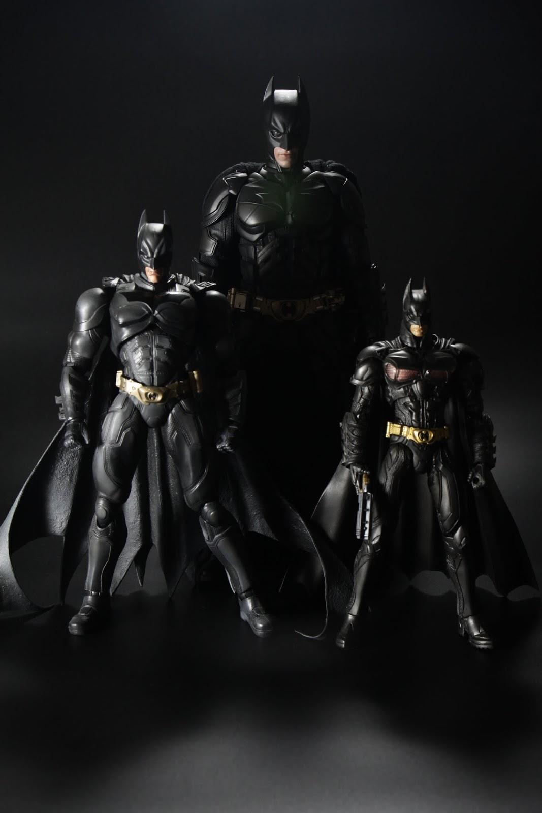 """三種""""The Dark Knight"""" 三種不同風格"""
