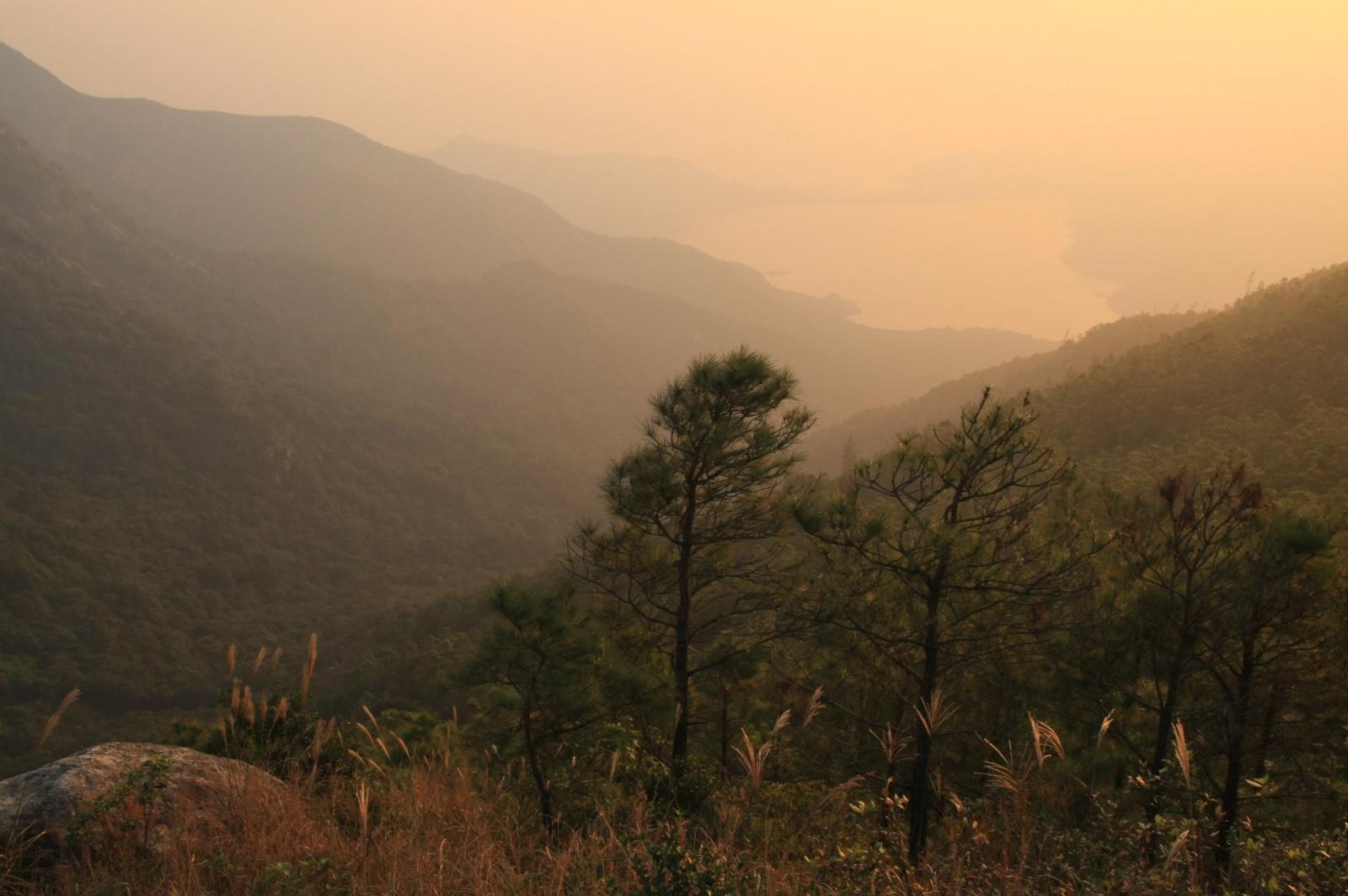 Lantau island has great hiking trails
