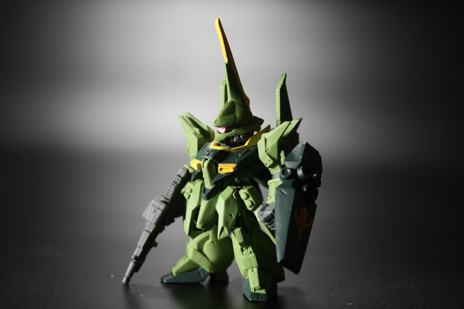 這次的隱藏版 綠色量產型巴烏