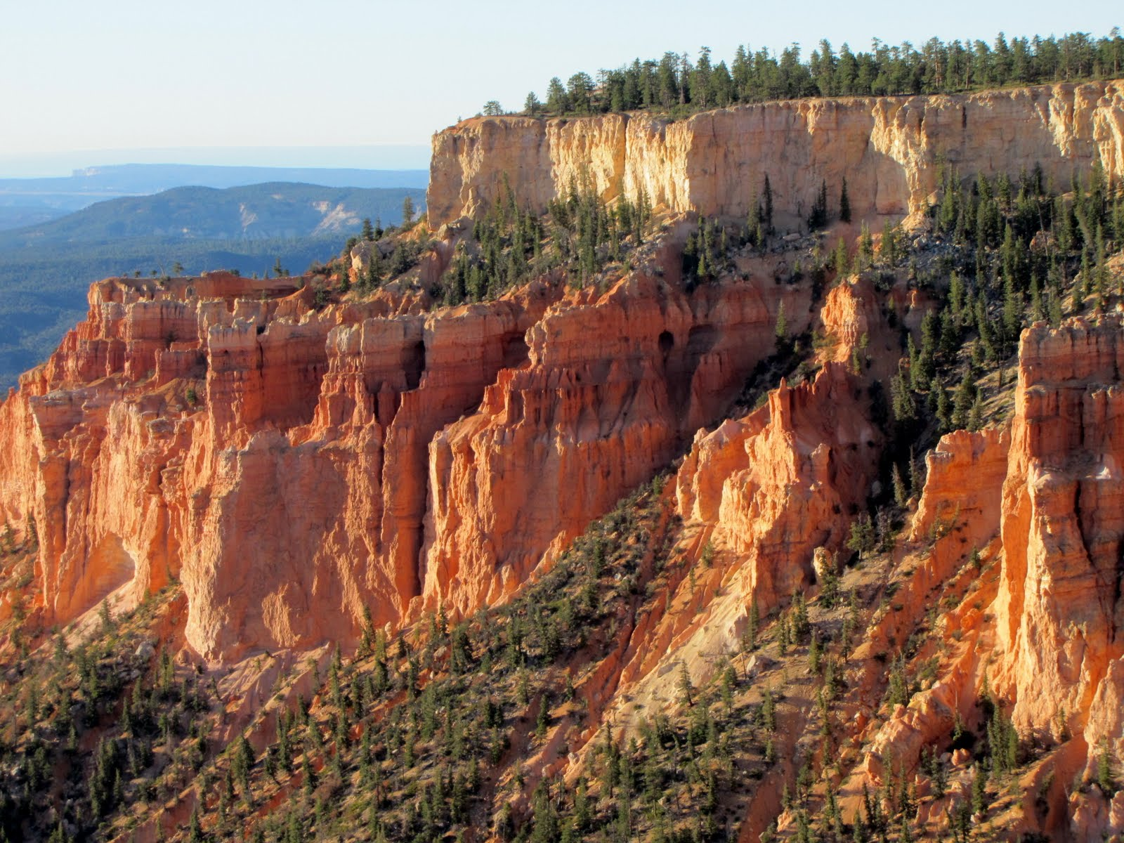 Climbing to the top of Bryce